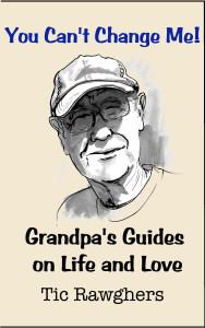 Cover of Grandpa's first book